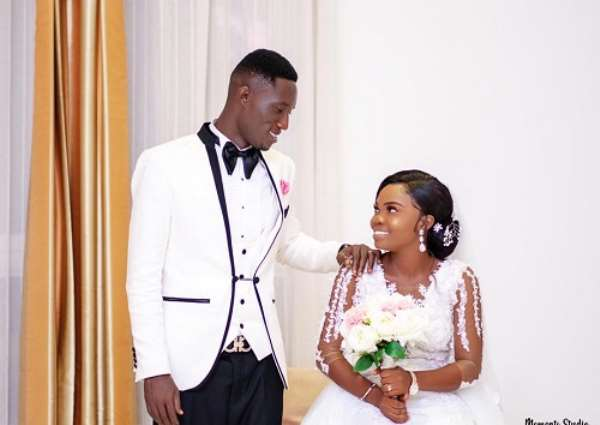 Medeama SC Skipper Joseph Tetteh Zutah Weds Long Time Girlfriend [PHOTOS]
