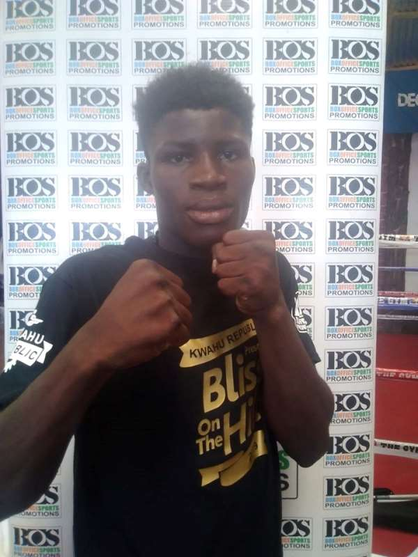 Alfred Lamptey Wins Third Fight In Style