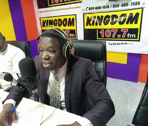 Daniel Kwesi Ashiamah, MP for  Buem Constituency