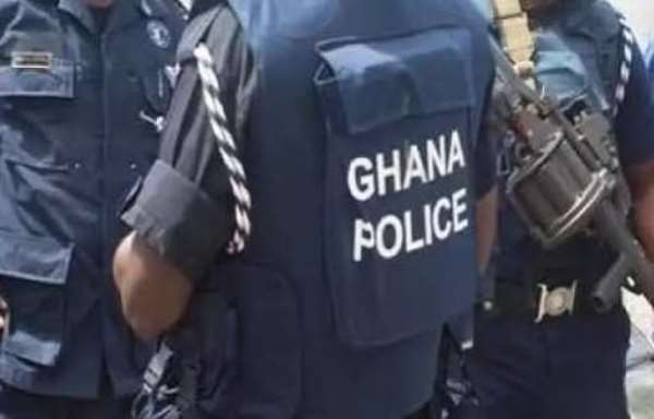 C/R: Unknown security operatives assault police officer at Ochiso Police station in Ajumako