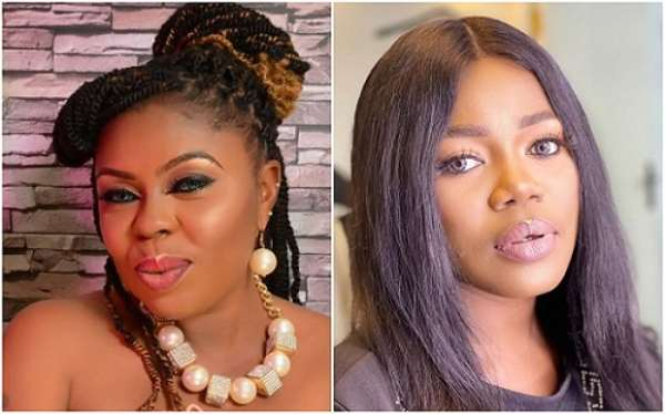 """You're so shameless, you're either sleeping with the men I date or work with"" – Afia Schwar fires more shots at Mzbel"