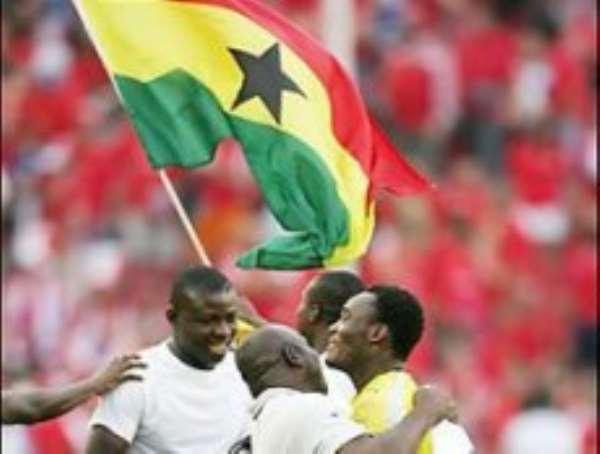 Ghana begins Beijing dream