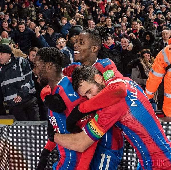 Jeffrey Schlupp Savour Crystal Palace's 1-0 Win Over Bournemouth