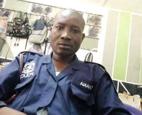 Sergeant Emmanuel Chikudohwas killed during an attack onbullionvan belonging to ADB Bank at Sefwi-Wiawso.