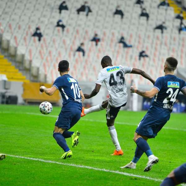 Bernard Mensah on target as Besiktas brush aside Kasimpasa with a 3-0 win