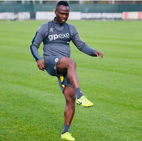 Agyemang Badu Trains Alone As He Nears Full Recovery