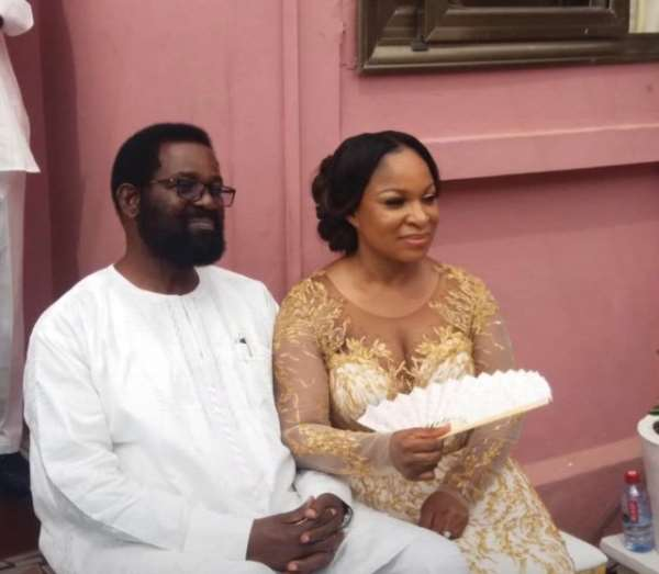 Alfred Okoe Vanderpuije on Thursday got engaged to one Cynthia Amerley Ayiku.