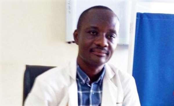 Dr Samuel Amanamah, A Consultant Urologist at the Kumasi South Hospital