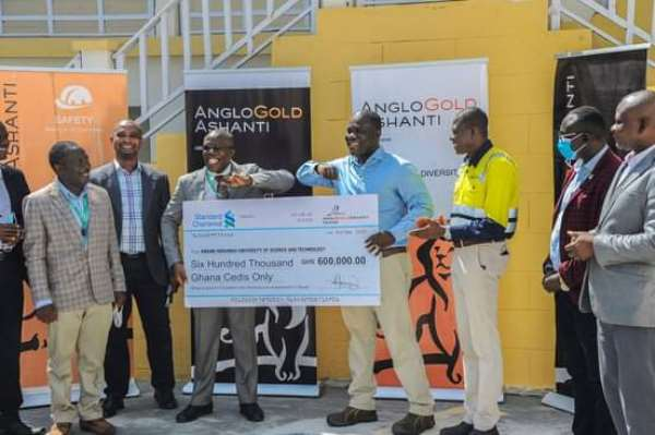 Anglogold Ashanti commits more funds to support KNUST- Obuasi campus