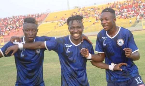 Berekum Chelsea 1-1 Aduana Stars - Blues Remain Unbeaten In The Ghana Premier League