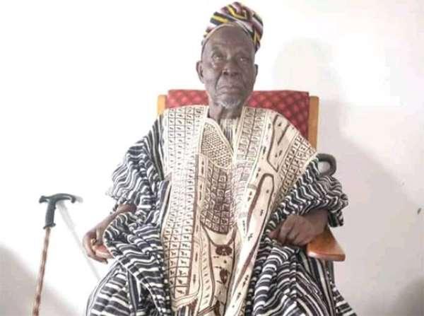 Paramount Chief of Kperisi Naa Seidu Mahama Kunlugi II passes on