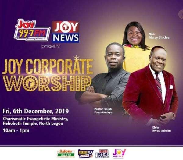 [Watch Live] Joy Corporate Worship 2019