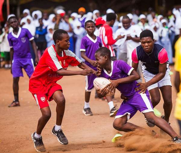 Ghana Rugby, Societe Generale Ends 2019  'Get Into Rugby' In Accra