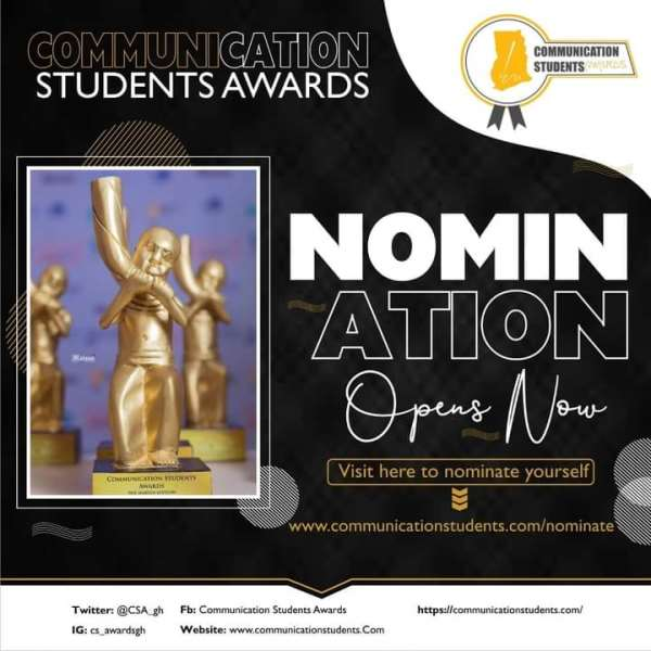 Communication Students' Awards 2021 opens nominations