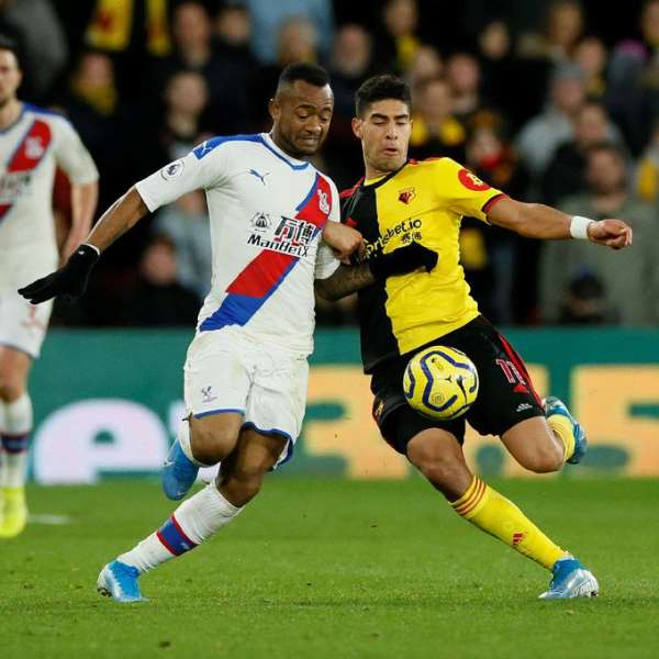 Ayew, Schlupp Feature for Crystal Palace Against Watford In EPL