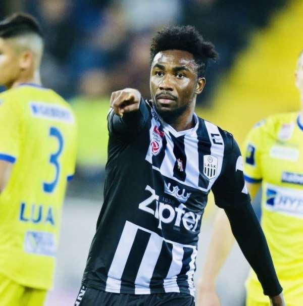Samuel Tetteh Score To Help LASK Linz Beat Wolfsberg 3-1 In Austria