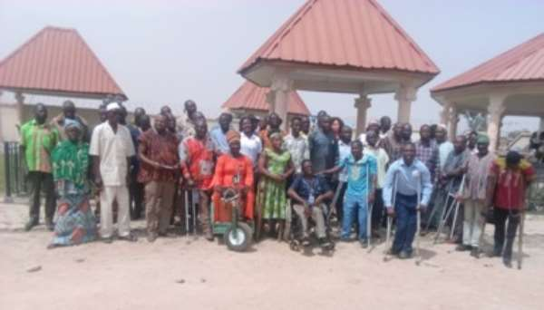 RE: PWDs Lay Siege At Local Gov't Minister's Residence