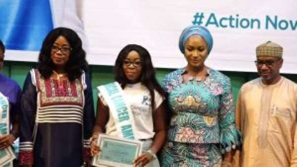 Atinka TV Host Adwoa Ampomah Becomes Cervical Cancer Ambassador