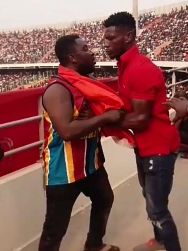 Patrick Allotey Facing Sanctions From GBA After Beating Fan