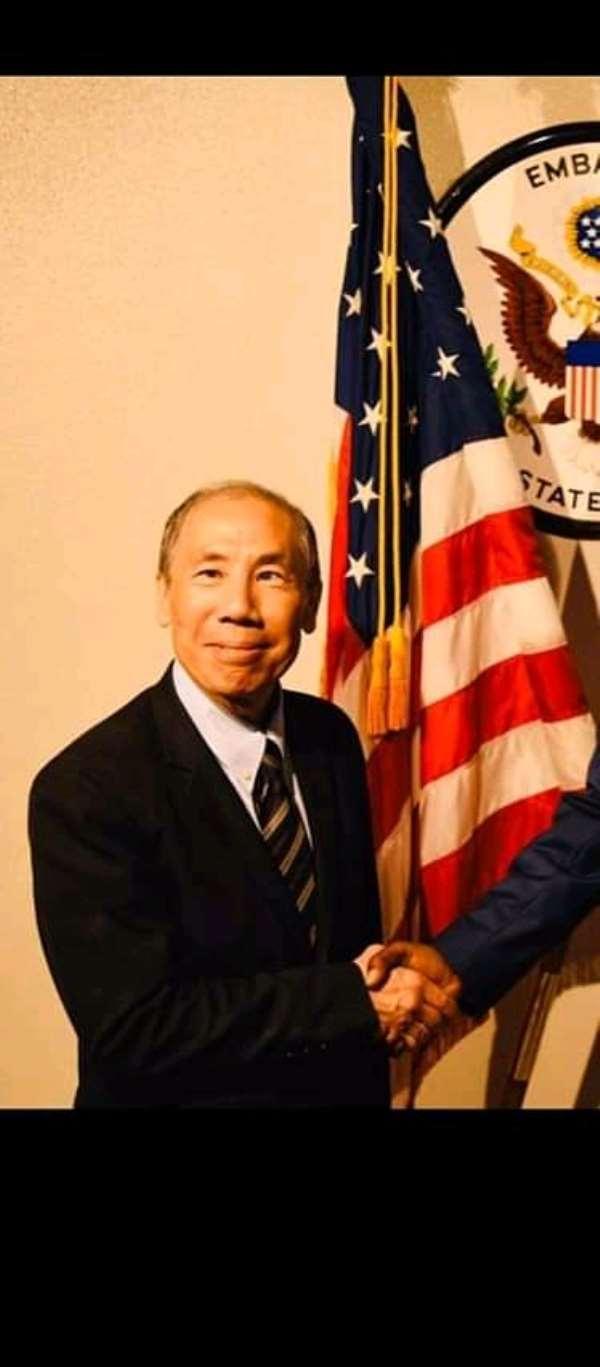 John Yamomoto, U.S Ambassdor to Somalia