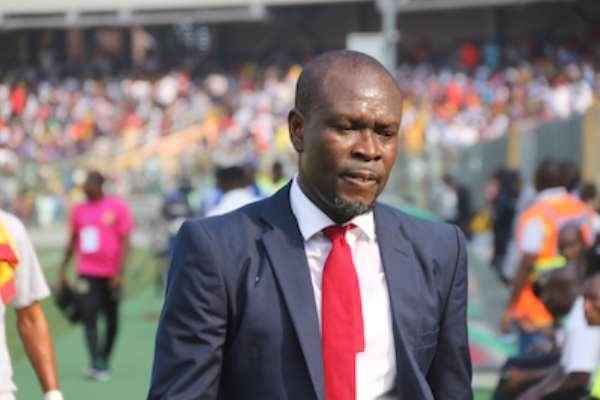 Black Stars head coach CK Akunnor