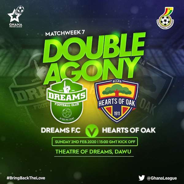 Ticket Prices For Dreams FC v Hearts Of Oak Clash Announced
