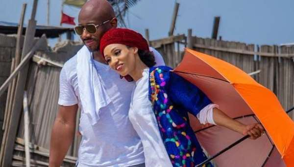 Singer, Dija Spotted With Her Hubby at Beach