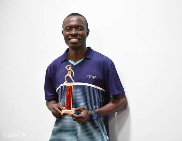 Derek Abrefa Wins Westchester Table Tennis Opens