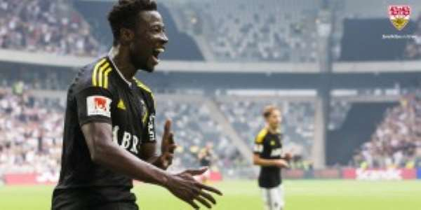 OFFICIAL: German outfit VfB Stuttgart confirm signing of Ghana midfielder Ebenezer Ofori on three-year deal