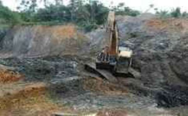 Two Drowns In a Galamsey Pit