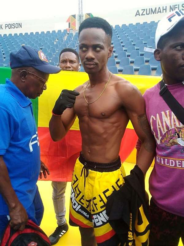 Benin's John Amuzu Says He Is In Ghana To Win WBO Global Title