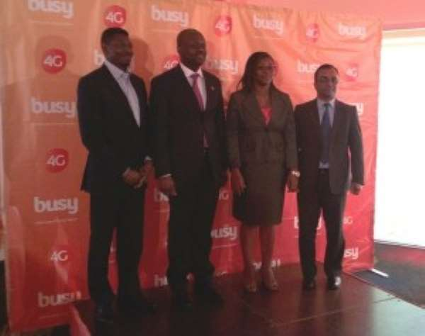 Busy Launches 4G Services