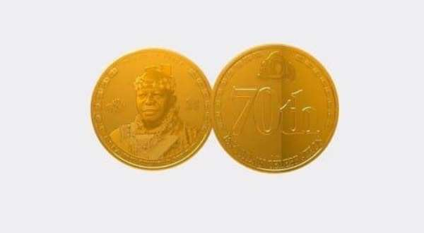 Gold Coins To Commemorate Asantehene's 20-year Reign