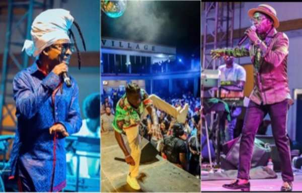 Stonebwoy Joins Kojo Antwi, Amakye Dede To Treat Fans At '2 Kings Live In Concert'