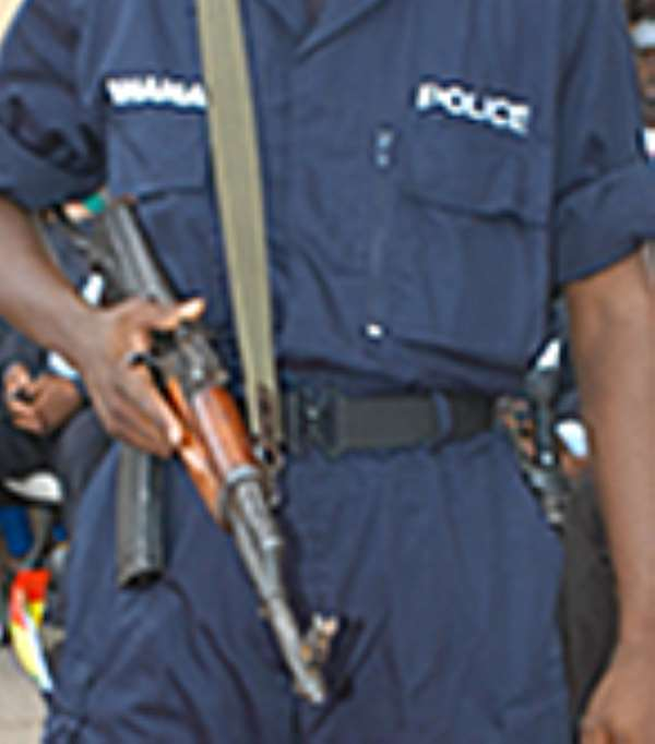 Top police officers trade blows …over arrest of land guards