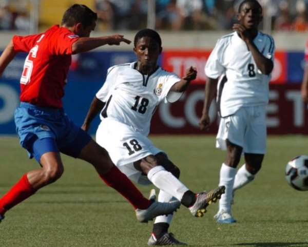 Ghana and Costa Rica share the spoils