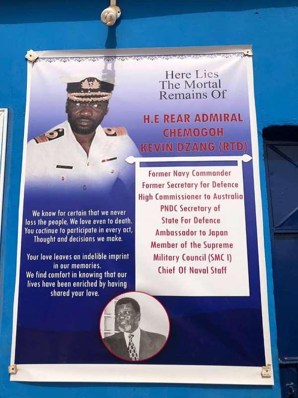 Nandom Marks 10th Anniversary Of H.E Rear Admiral Chemogoh Kevin Dzang