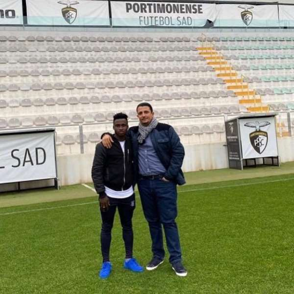 Portuguese Side Portimonense Sign Evans Mensah On Loan