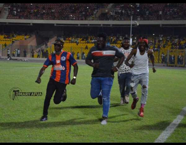 VIDEO: Shatta Wale Performs To Garnish Legon Cities FC's Clash With Kotoko