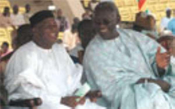 KUFUOR AMBUSHED ·Over NPP Race