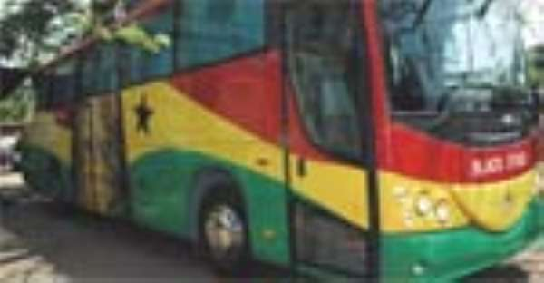 Guinness Donates Bus To Stars