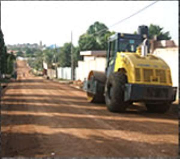 Ministry pays 90% of contract works