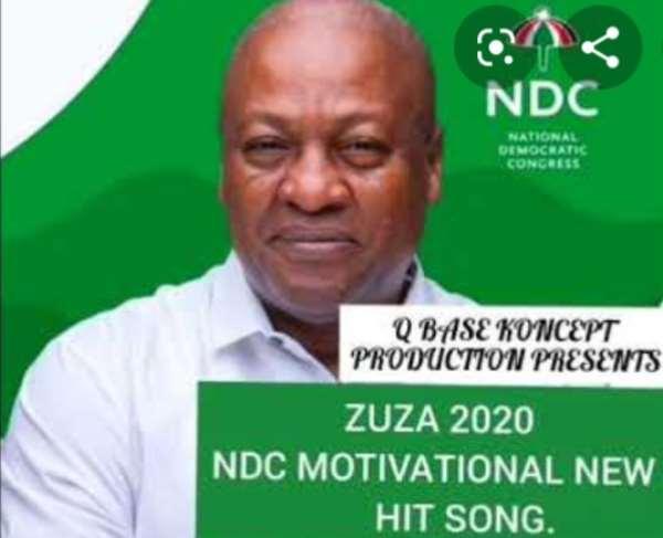 [Listen] Q Base Koncept Drops 'ZUZA 2020' For Mahama Ahead Of 2020 Elections