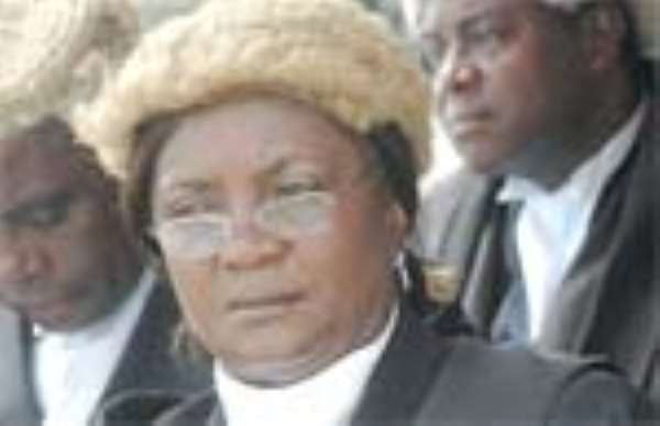 Chief Justice Inspects Cape Coast Court