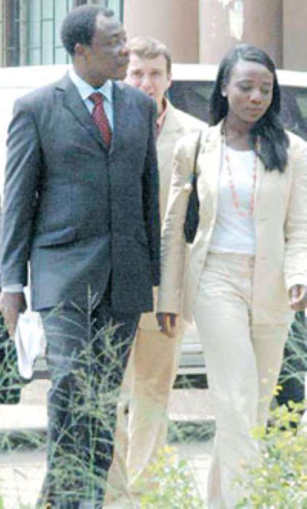 Allegations of Traasaco housesSECURITY CAPO'S GIRL RAGES