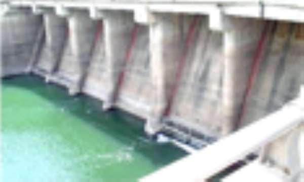 Akosombo Water Level Rises