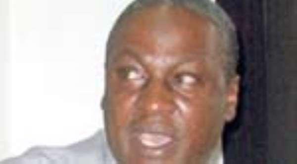 John Mahama In Corn-Mill Scandal
