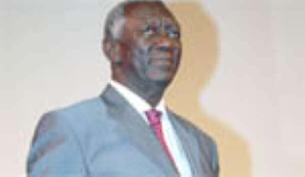Kufuor Warns District Scramblers