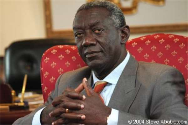 Costs Of MCA Projects Should Be Within Agreed Budgets-Kufuor