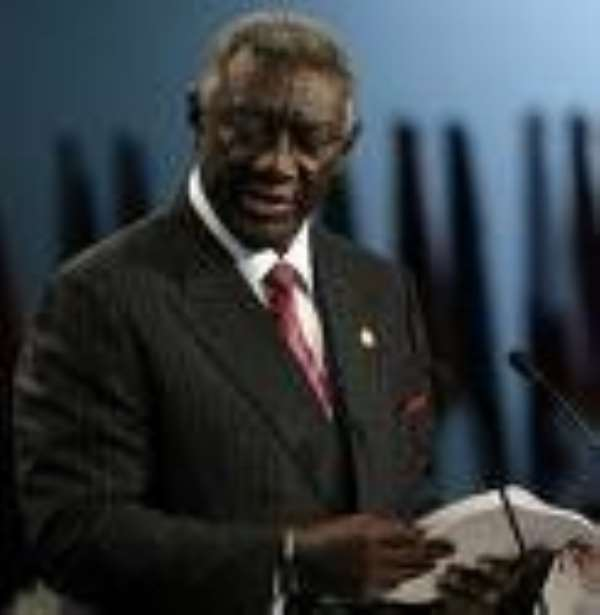 Kufuor named Chairman of Allliance for African Foundation